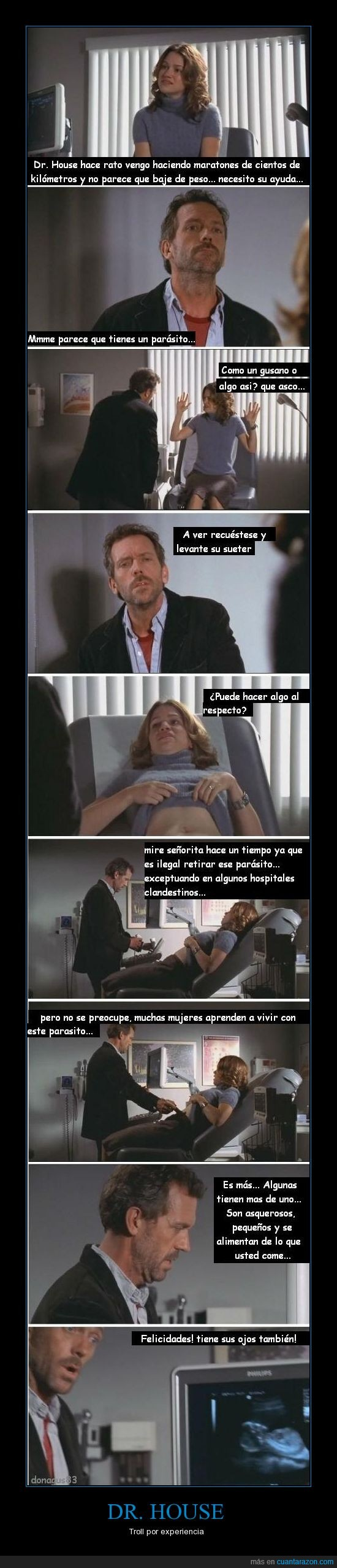 bebe,doctor,dr house,mujer,troll