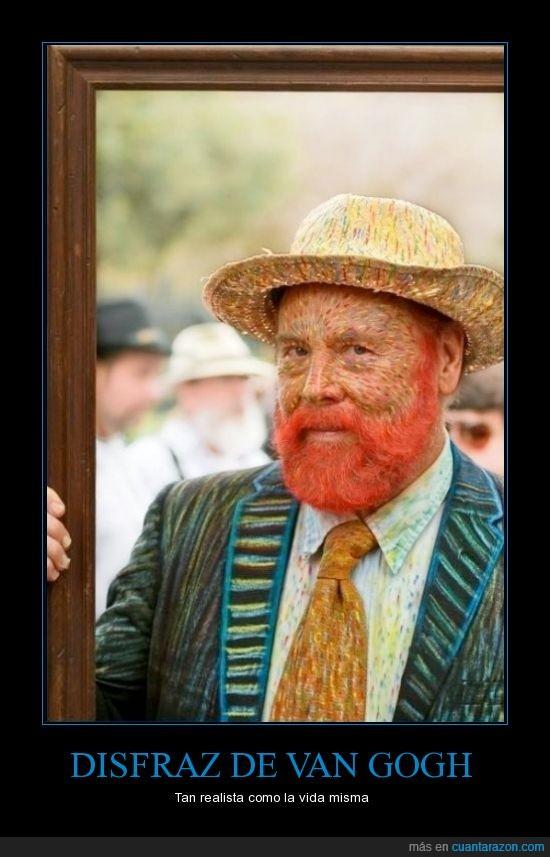 autoretrato,dibujo,disfraz,impresion,marco,realista,trazo,Van Gogh