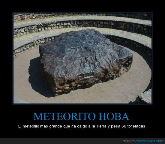 66 toneladas,grande,meteorito,pesado