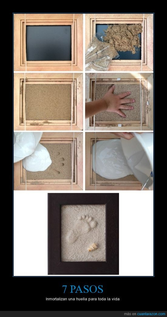 decoración,huellas,inmortalizar,instructivo,Pasos,sencillo