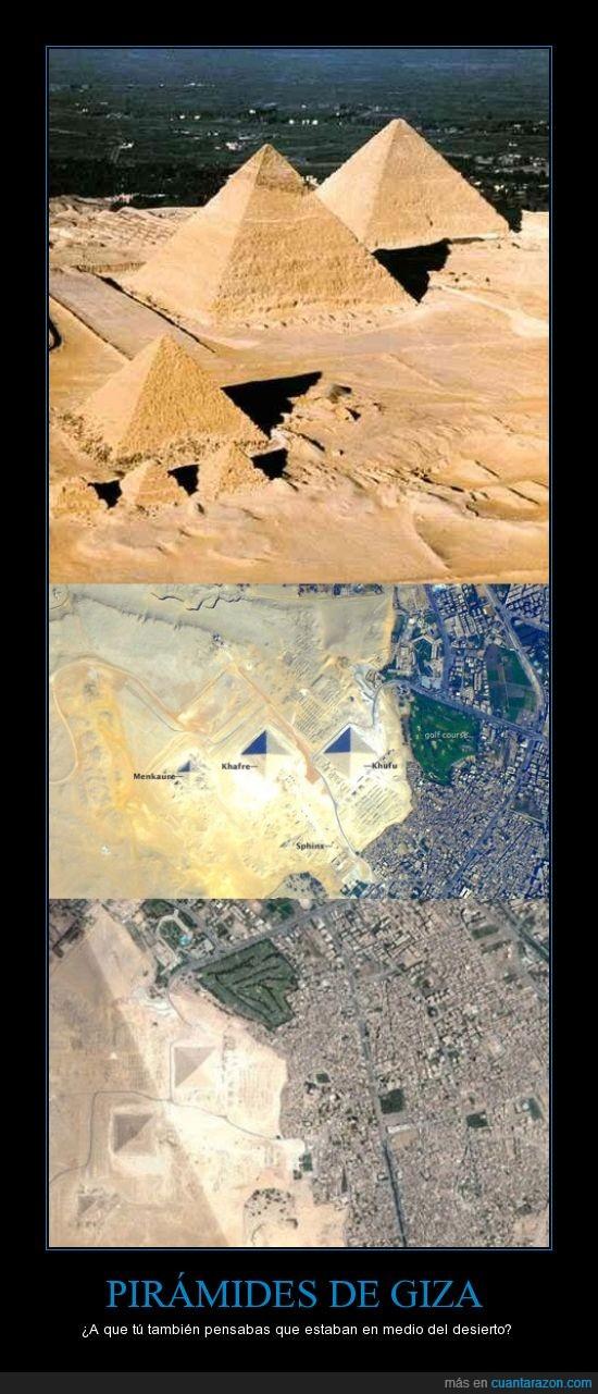 cerca,ciudad,desierto,egipto,piramides de giza