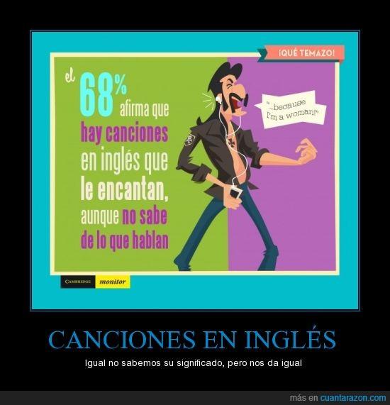 canciones,españoles,idioma,inglés,música