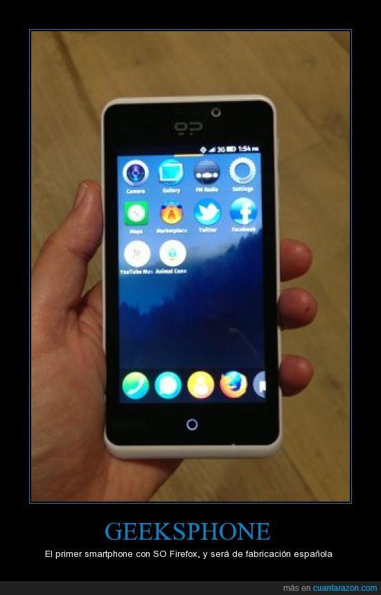 firefox,geeksphone,keon,peak,smartphone,so,telefonica
