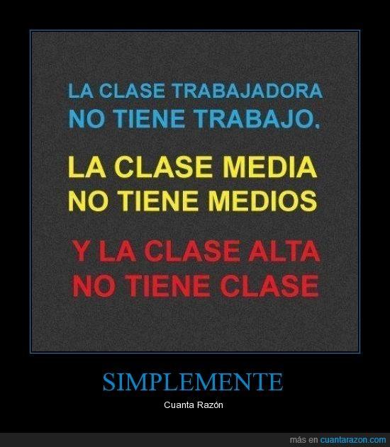 america,clase,clase media,españa,mexico,pobres,ricos,trabajadora