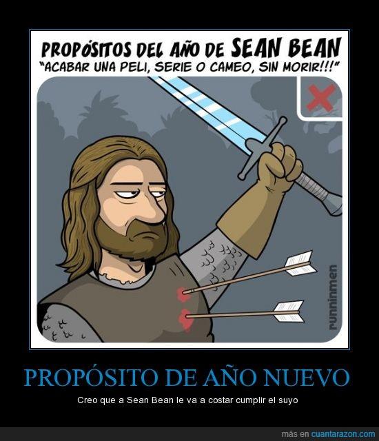 boromir,chiste,muerte,Propósito del año,Sean Bean,star