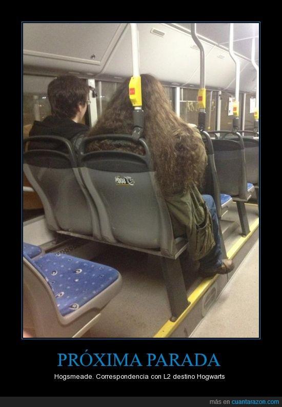 autobus,hagrid,harry,largo,pelo
