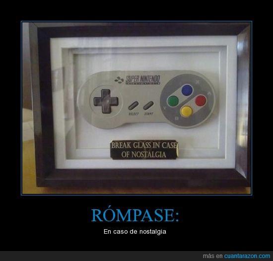 control,mando,nintendo,nostalgia,romper,supernintendo,videojuegos