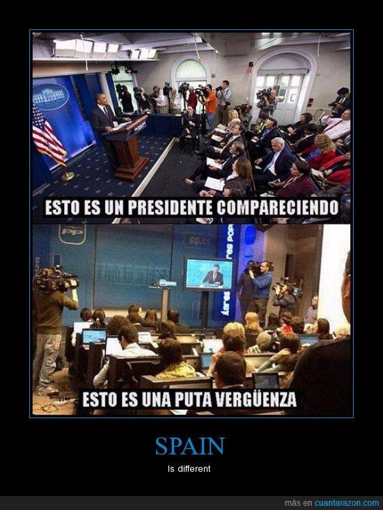 comparecencia rajoy,corrupcion,obama,rajoy,verguenza