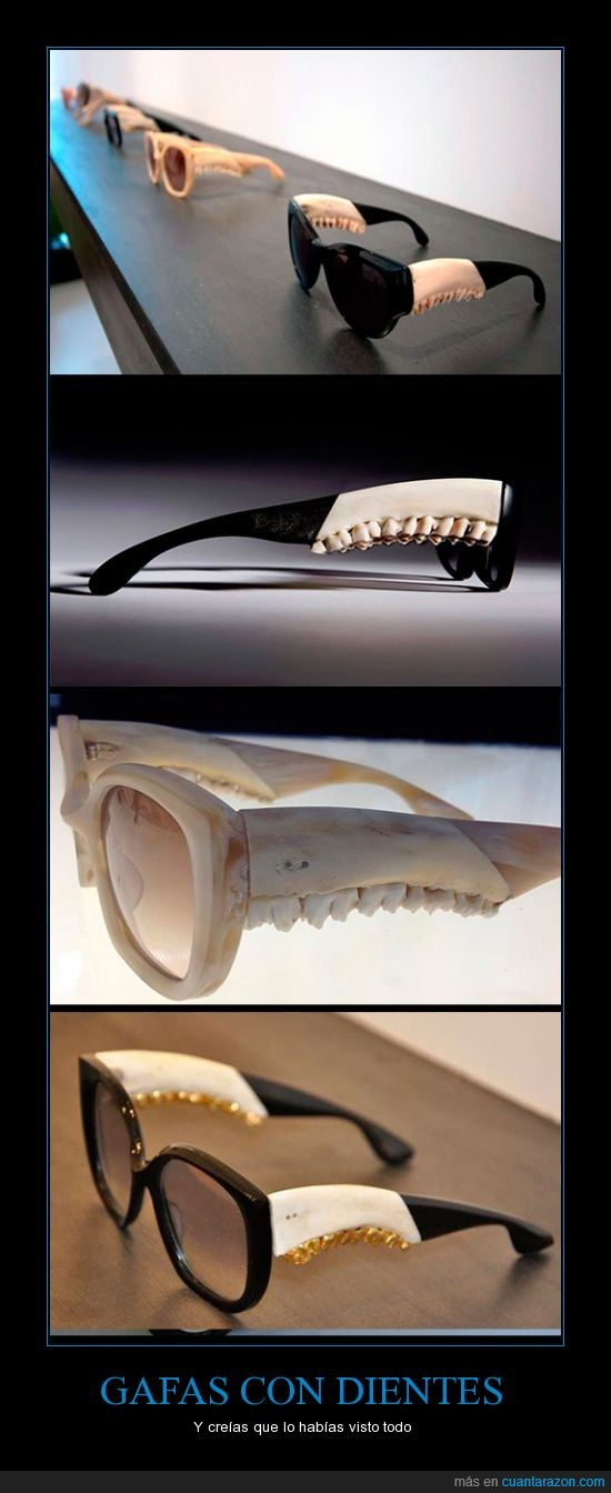 diente,escalofriante,gafas,miedo,original,son de cieeeeervo