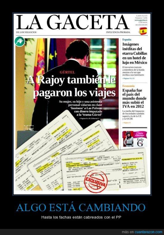 Corrupción,la gaceta,ladrón,mentiroso,PP,Rajoy