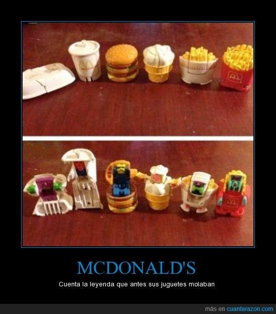 comida,happy meal,juguetes,leyenda,McDonalds,mola