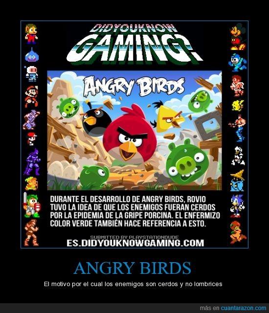 Angry,Birds,cerdo,gripe porcina
