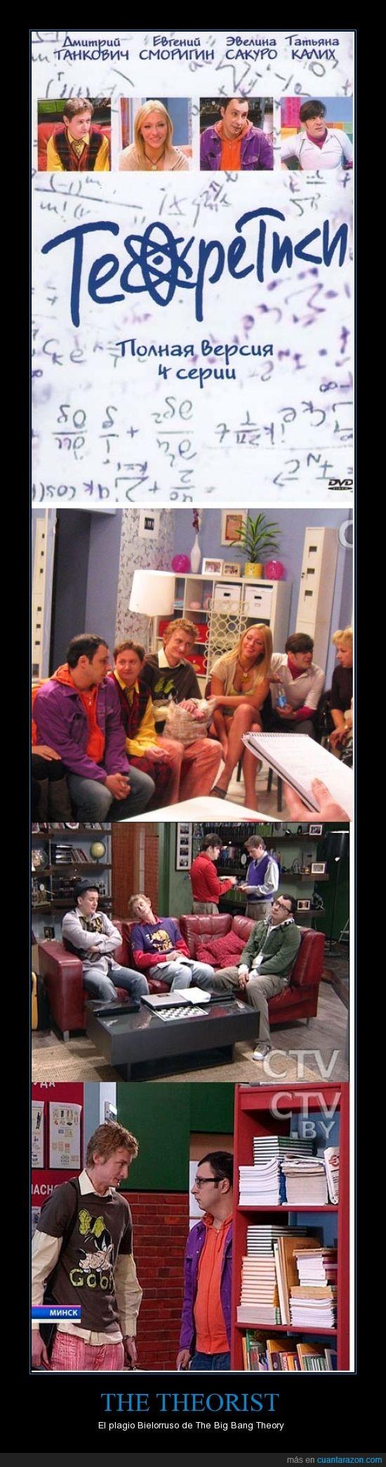 Bazinga,Bielorrusia,Big Bang Theory,Plagio,Sheldon Cooper