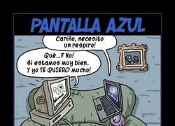 Enlace a PANTALLAZO AZUL