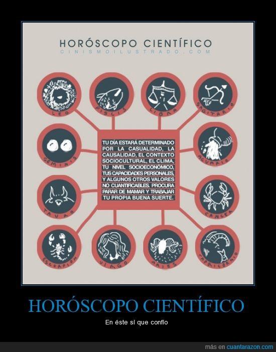casualidad,causalidad,científico,futuro,horóscopo,increible que exista gente que crea en horóscopos,plumas de cangrejo,suerte,verdad