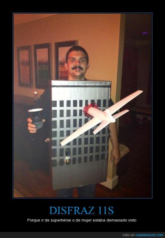 11s,ataque,avion,caja,disfraz,gemelas,terrorista,torres