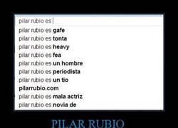Enlace a PILAR RUBIO