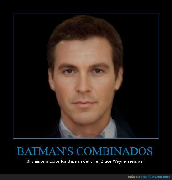 actor,bate,batman,cara,clooney,combina,kilmer,mezcla