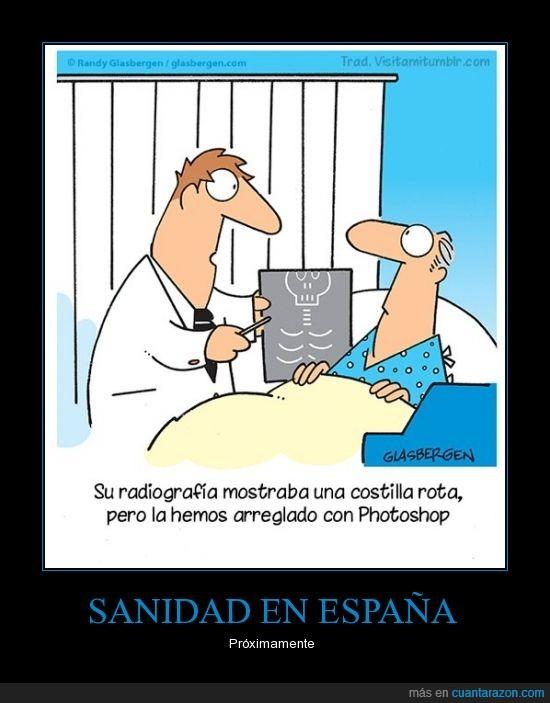 costilla,hospital,médico,paciente,photoshop,rota,sanidad