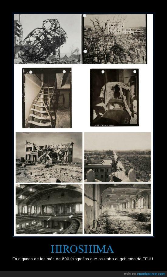bomba atomica,destrozos,estados unidos,hiroshina