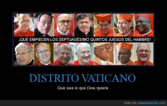 benedicto,cardenales,hambre,juegos,papa,vaticano