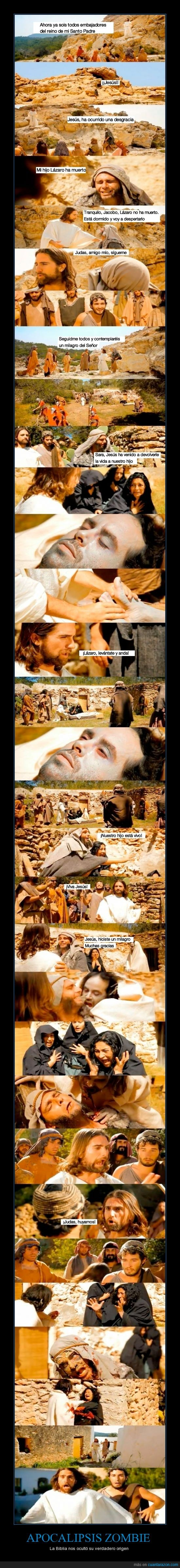 apocalipsis,dios,jesus,judas,muertos,vivientes,zombie