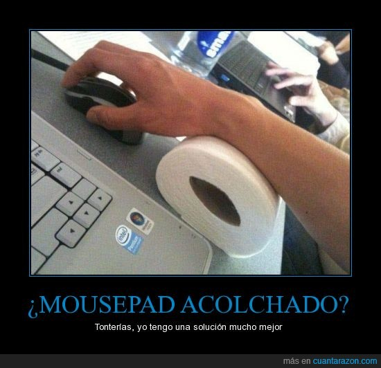 mousepad,papel