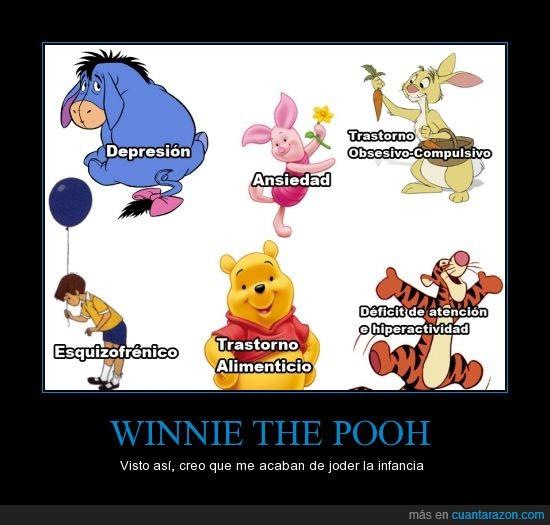esquizofrénico,hiperactivo,piglet,winnie the pooh