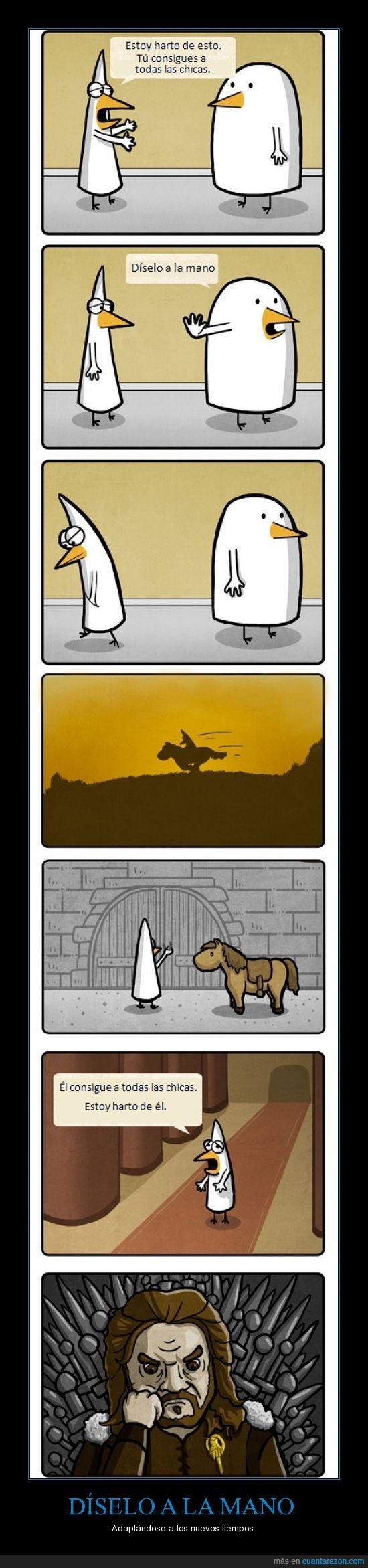 Eddard Stark,Fredo,Juego de Tronos,Mano,Pidjin,Se acerca el Invierno