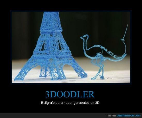 3d,3doodler,dimension,garabatos,inventos