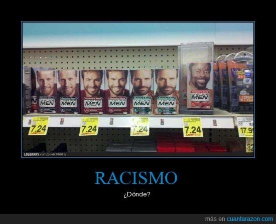 blanco,negro,racismo,seguridad,supermercado,tinte
