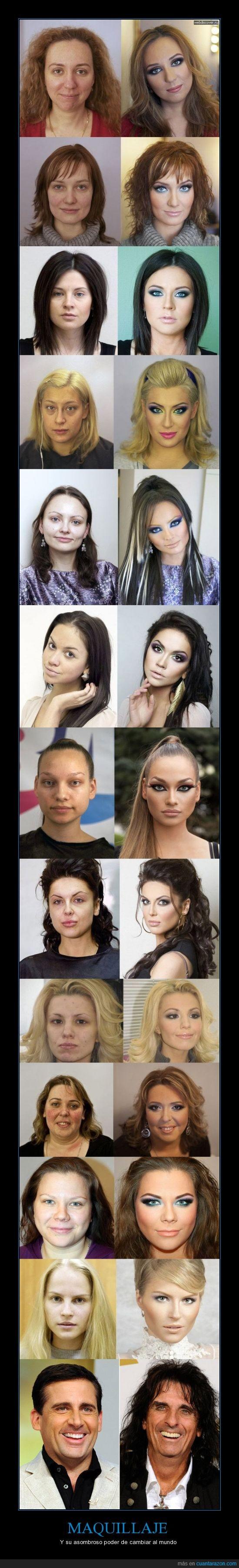 cambio,maquillaje,mejora,mujeres,steve