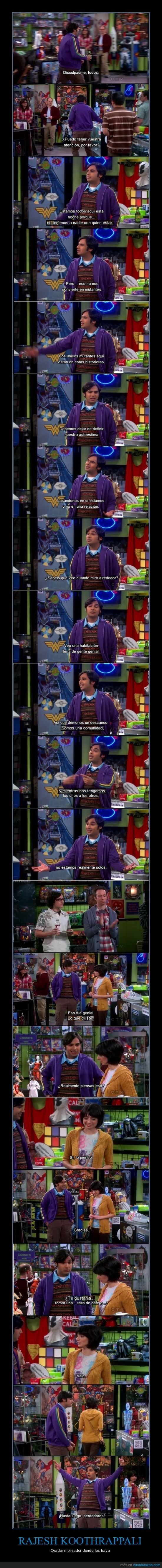 capitulo 16,cita,comics,cooper,Koothrappali,nerds,raj,rajesh,sheldon,stuart,TBBT,temporada 6,The big bang theory