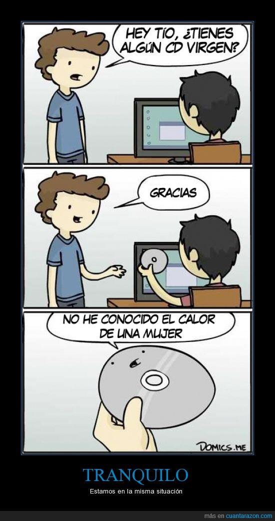 calor,cd,conocido,informatica,mujer,ordenador,virgen