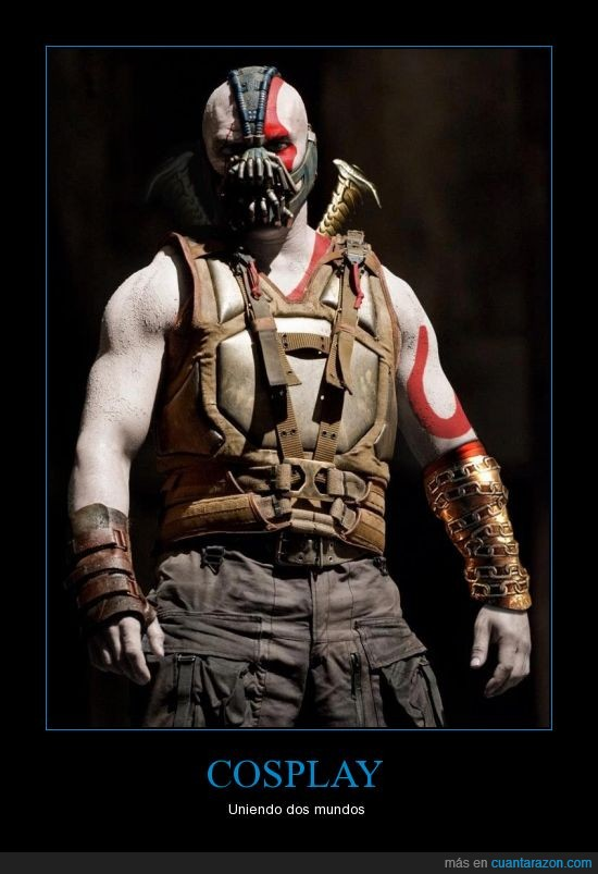 Bane,Batman,God of War,Kratos
