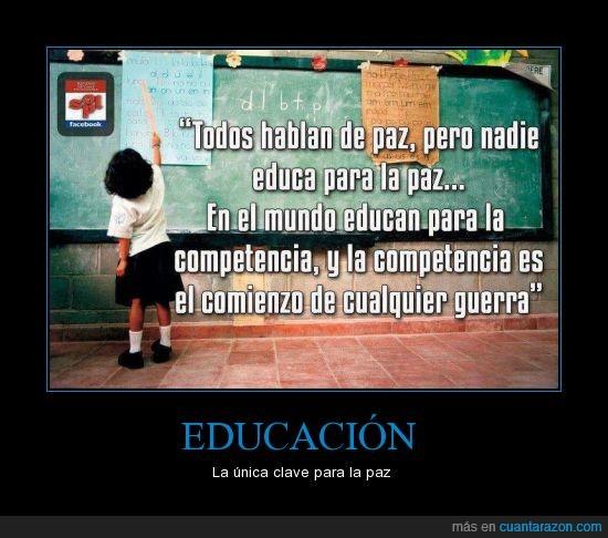 competencia,cultura,educacion,frase,guerra,paz
