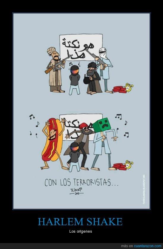 baile,bomba,harlem shake,hotdog,minecraft,moda,pegajoso,terroristas