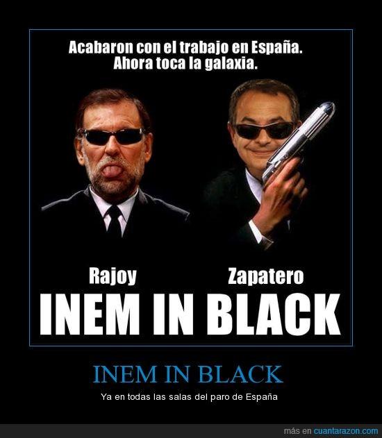 crisis,gobierno,Inem,Paro,PP,PSOE,Rajoy,Zapatero