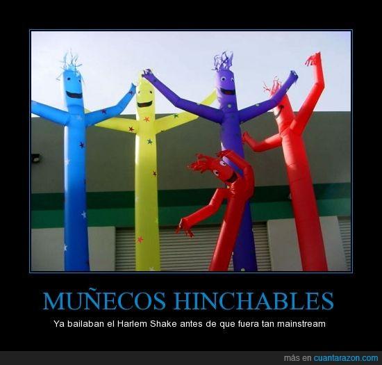 baile,harlem shake,hinchable,muñeco