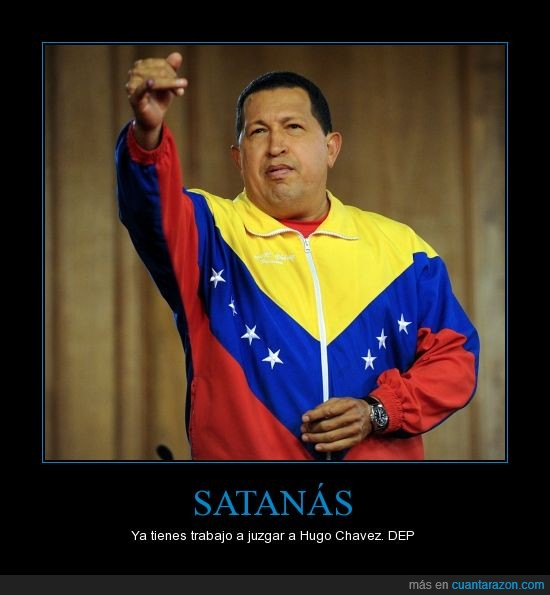 chandal horrible,hugo chavez,muere,venezuela