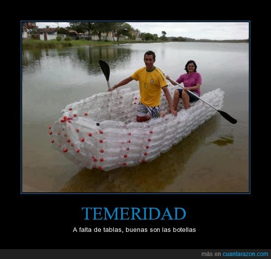 barca,barco,botellas,lago,madera,remar,rio,tablas