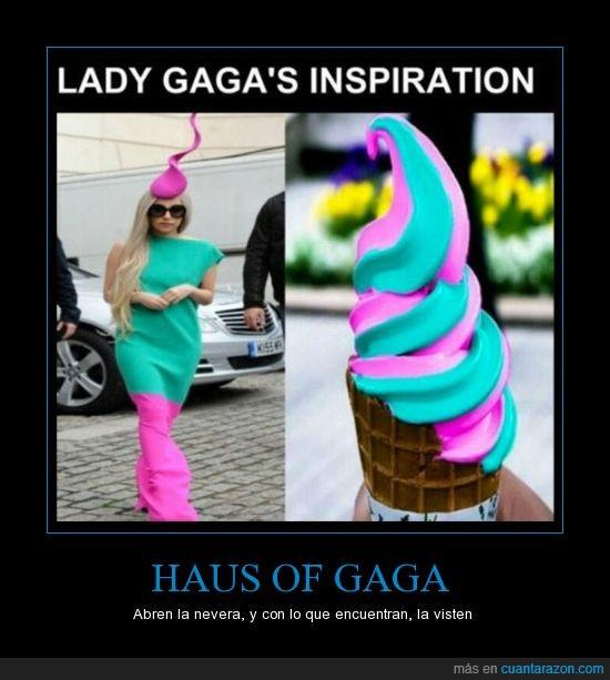 azul,color,haus of gaga,helado,lady gaga,rosa,verde