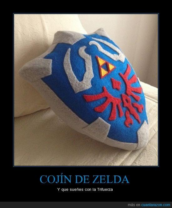 almohada,cojín,escudo,link,videojuegos,zelda