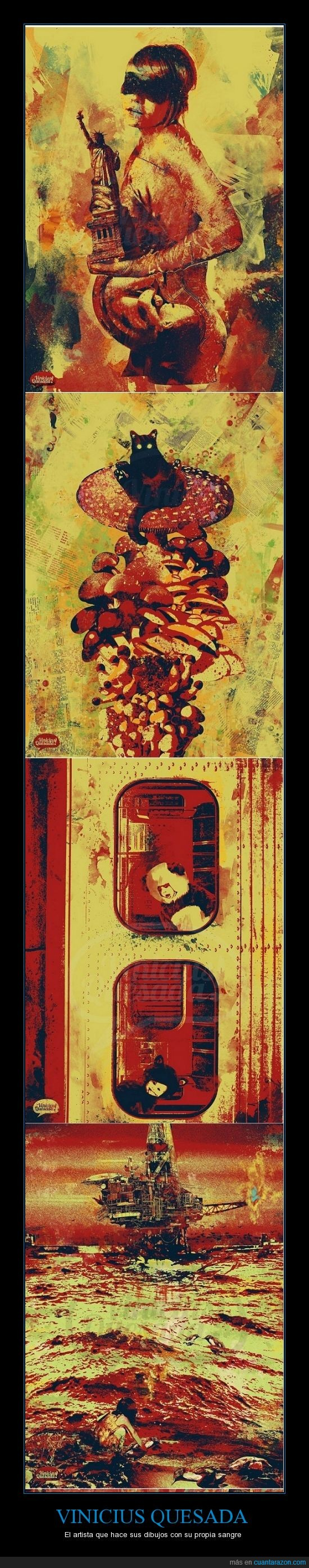 arte,dibujos,loco,sangre
