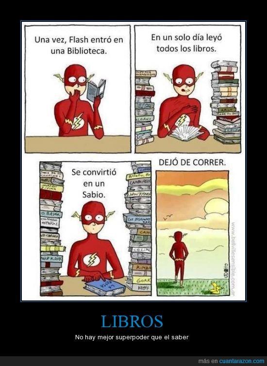 correr,dejar,dejo,flash,leer,libro