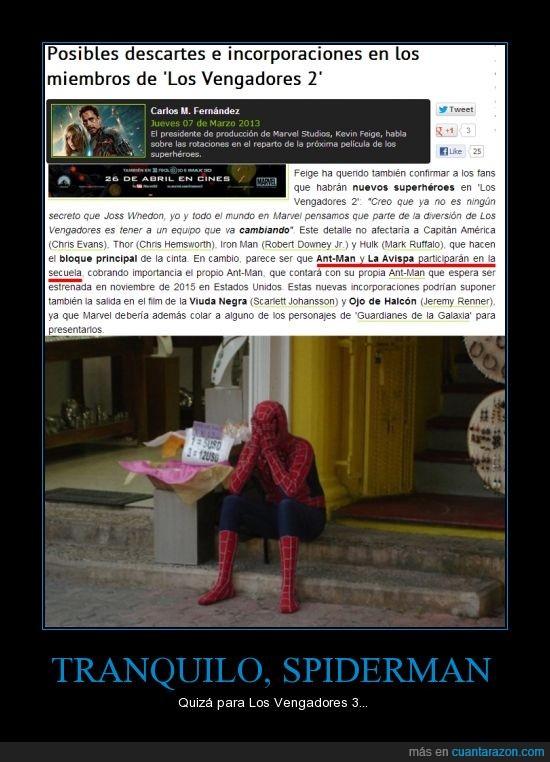 Avengers,cine,Los Vengadores,Marvel,Spiderman