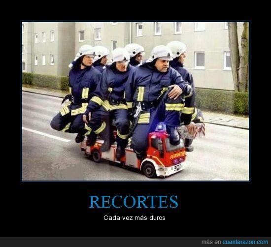 bomberos,crisis,Recortes,sanidad