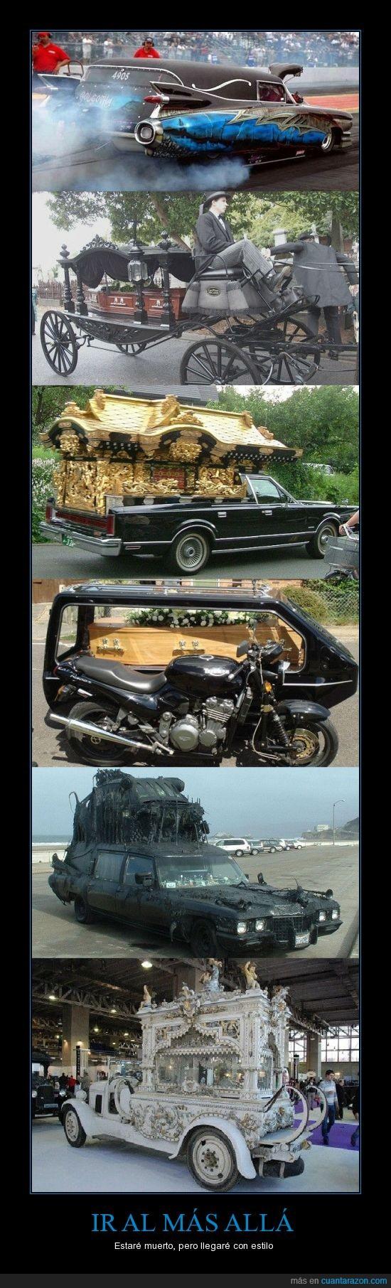 coches,funebres,¡¡la moto mola!!