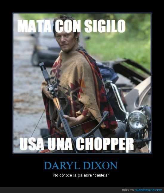 cautela,daryl,daryl dixon,matutte,the walking dead