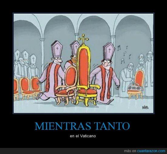 juego de las sillas,música,papa,sillas,Vaticano